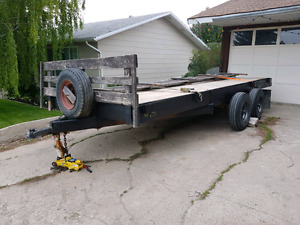 4 place sled or quad trailer