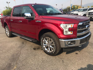 2017 Ford F-150 Lariat  UNDER 50KMS