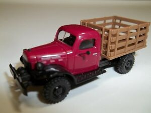 1949 Dodge Power Wagon Stake Truck Model.
