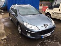 2005 Peugeot 407 Estate Diesel- Service History, 12 Months MOT, Service History, 2xKeys, 2 Owners