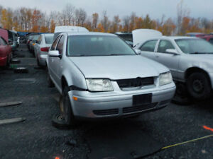2001 Volkswagen Jetta Now Available At Kenny U-Pull Cornwall