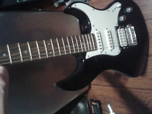 Guitar and line 6 amp with effects