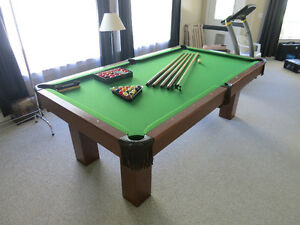 Canada Billiards Pool Table + Accessories