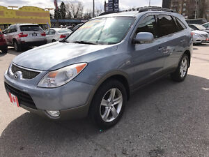 2008 Hyundai Veracruz SE AWD 7 PASSENGER SEATING...LEATHER.