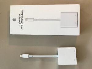 Apple Lightning to USB 3 Camera Adapter