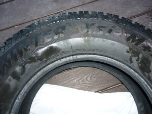 Winter Tires- 255/70 R18 (Arctic Claw )