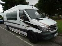 Mercedes-Benz Bespoke Panel Conversion, Fixed Bed Camper For Sale.