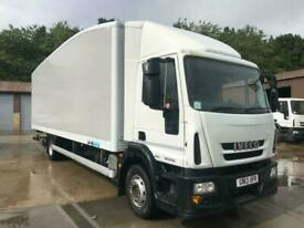 2013 IVECO EUROCARGO 140E18 14 ton 27 ft BOX TRUCK WITH TAIL LIFT