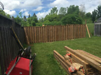 Fencing , siding and more!