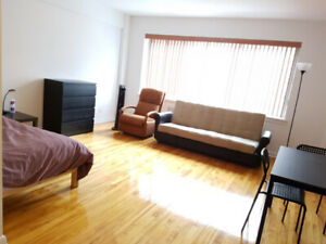 Studio Apartment Near GUY-CONCORDIA METRO - MAY Lease Transfer!!