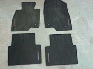 Winter rubber mats for Mazda 3
