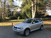 2007 BMW X3 2.0d M Sport Turbo Diesel 4x4 5 Door Estate Silver