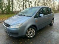 Ford Focus C-MAX 1.6 16v 115 2006 Style Petrol MPV Manual in Blue