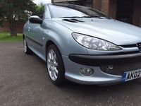 Peugeot 206cc convertible low miles full leather may p/ex swap