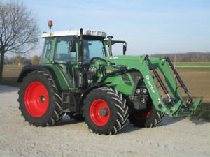 Fendt 312 Vario CVT with loader
