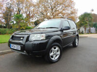 LOVELY 2004 LAND ROVER FREELANDER 1.8 SE DRIVES BEAUTIFULLY SUPERB CONDITION