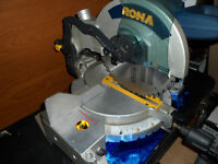 Rona  Compound Mitre Saw , Chopsaw,  model MS001, $100.