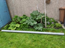 3m length 110mm diameter soil pipe