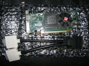 Cheap PCIe x16 dual DVI video cards