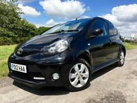 Toyota AYGO FIRE 1.0 2012 Black Manual Petrol 5 Door