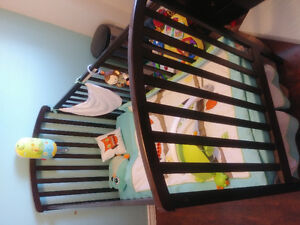 Baby Crib and mattress