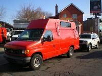 2007 Ford E350 HIGH TOP WITH WORKSOP