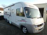 Rapido 999M Mercedes 3.0L Auto 4 Berth A Class with 4 x Seatbelts French Bed
