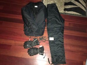 Gerbing heated jacket, gloves, pants and temp control