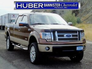 2012 Ford F-150 4X4/King Ranch/Leather