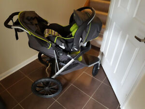 Evenflo victory Baby stroller and car seat
