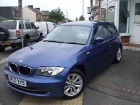 2007 07 BMW 1 SERIES 2.0 118I ES 3D 141 BHP FSH