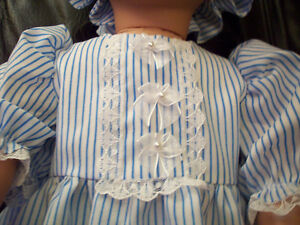 American Girl-sized Doll Clothes - Colonial Pinstripe Windsor Region Ontario image 5
