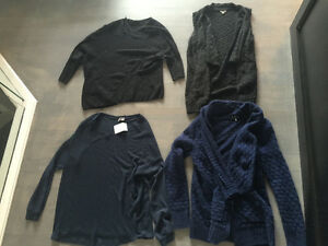 $180 for all large sweaters - aritzia vince urban outfitters