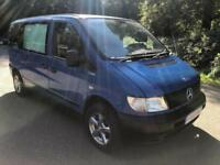 Mercedes-Benz VITO 108 CDI TRAVELINER. CAMPER. DOUBLE BED. TWIN GAS HOB. FRIDGE.