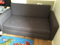 2 seat sofa bed from Ikea