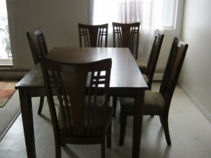 hard wood dinning table for sell