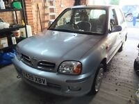 Breaking 2001 Nissan Micra 1.0 5 door