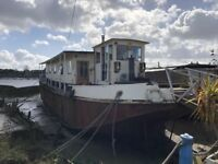 Converted Motor Barge - Naughton