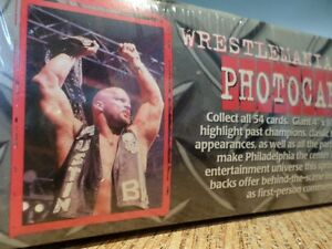 """WWF 4""""x 6"""" 216 Photocards """"FACTORY SEALED"""" (VIEW OTHER ADS)"""