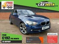 2014 BMW 1 Series 2.0 118d Sport Sports Hatch (s/s) 5dr Hatchback Diesel Manual