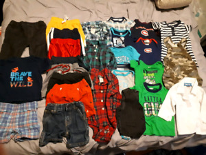 Boy summer clothing lot 6-9 month