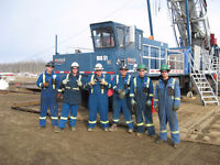 Now Hiring EXPERIENCED RIG HANDS and FULL CREWS