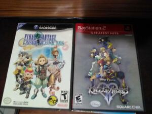 Game cube game and ps2 game