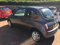 Nissan micra 1.2 petrol, 57 Reg,12 months mot,£899.