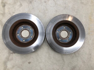 OEM - 2014 Acura MDX original front brake rotors [set of 2]