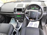 2010 Land Rover Freelander 2.2 SD4 GS 4X4 5dr Diesel black Automatic