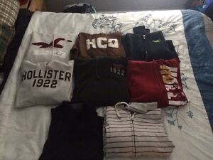HOLLISTER clothing LOT 40$ for all.