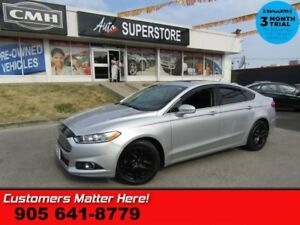 2014 Ford Fusion SE  NAV LEATHER ROOF CAM HS BT 2X-P/SEAT