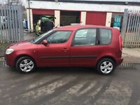 Skoda Roomster 1.6 automatic,85000 miles,fsh,£1699.