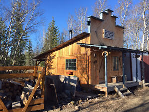 rustic but clean log cabin for rent